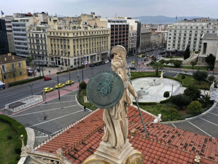 VIRUS OUTBREAK GREECE EMPTY ATHENS